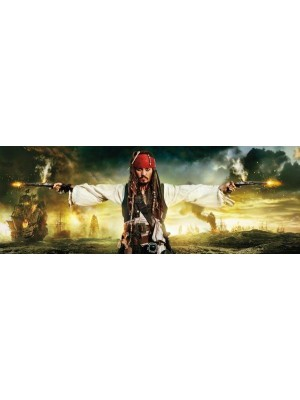 Wallpaper - Pirates & Pistols - Size: 202 X 73cm