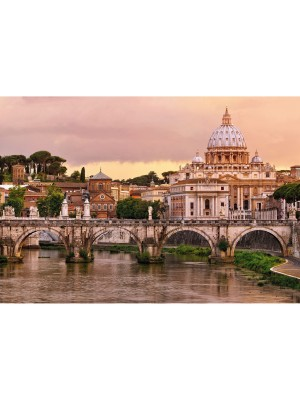 Wallpaper - Rome, Italy - Size: 368 X 254cm