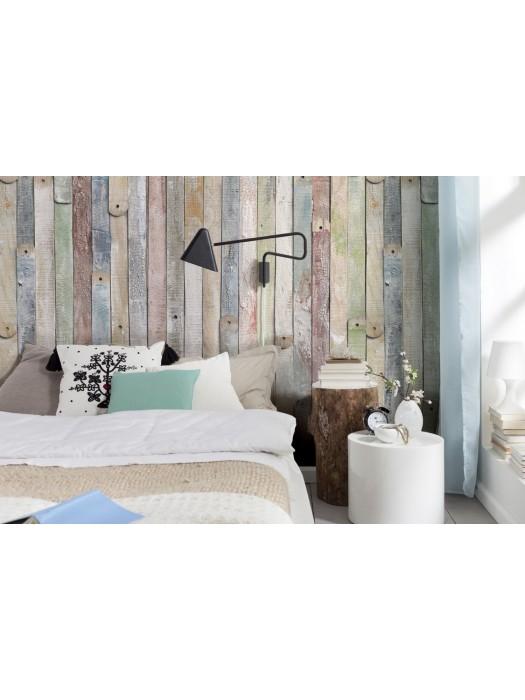 Wallpaper - Vintage Wood- Size: 184 X 254cm art: 4-910