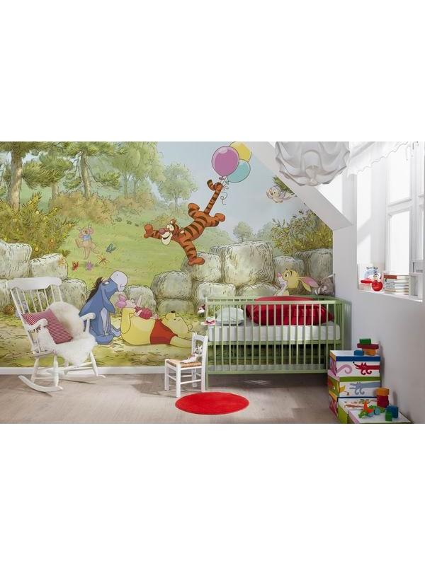 Wallpaper - Winney the Pooh - Size: 368 X 254cm