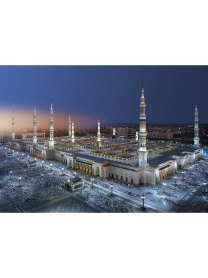 Wallpaper - Medina Mosque  Size: 388 X 270 cm