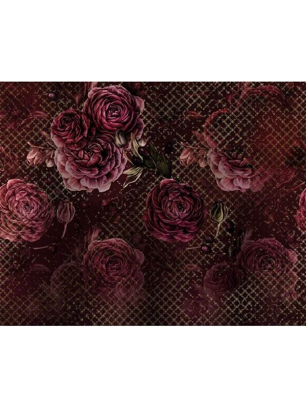 Wallpaper - Rouge Intense - Size: 350X280cm